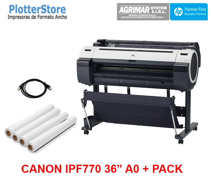 """Canon IPF770 36"""" A0 + Pack"""